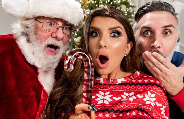 Санта Клаус любит смотреть как трахаются супруги